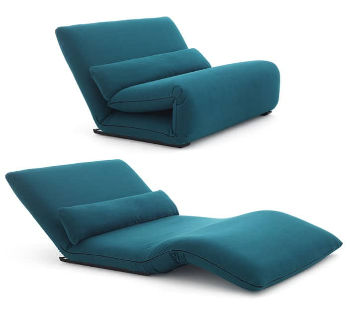 15 best sleeper chairs for small spaces vurni for Asian chaise lounge