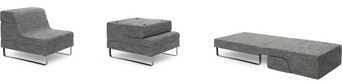 ... enough for any design scheme the Canyon sleeper chair is a people pleaser. This unassuming armchair folds out into a comfortable guest bed in seconds.  sc 1 st  Vurni & 19 Best Sleeper Chairs For Small Spaces u2013 Vurni