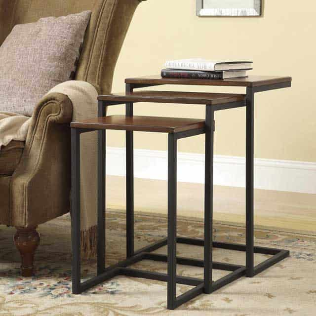 18 modern nesting side tables vurni decorate your home the simple way with carolina cottages madison nesting tables three separate tables combine beautifully into a seamless multi tiered watchthetrailerfo