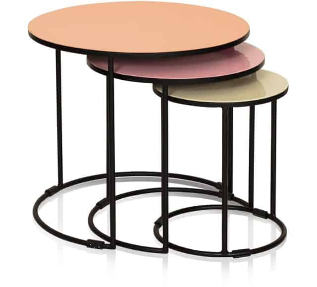 17 modern nesting side tables vurni for Modern nesting coffee tables