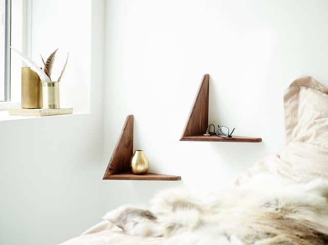Butterfly-wall-shelf