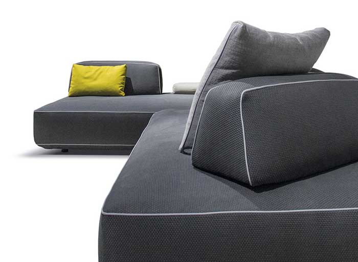 Sofa Modular Soft 2 Seater From Vitra In The