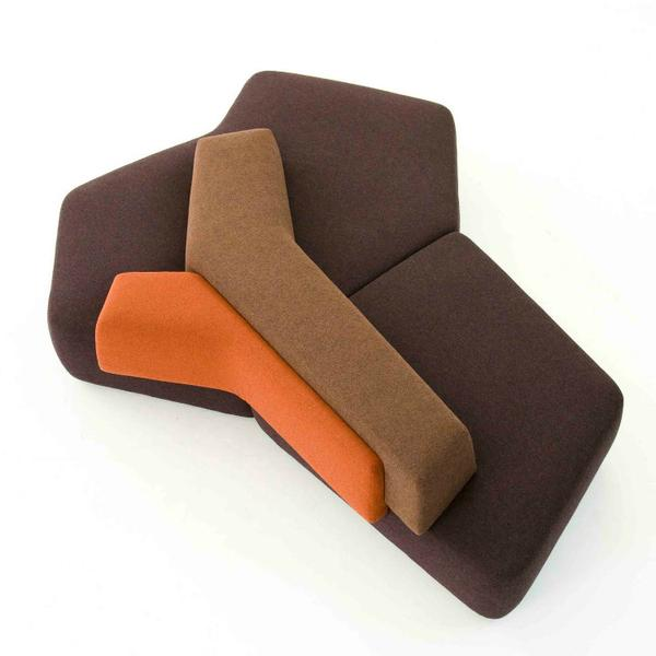 A Lot Of Modular Furniture Is Boxy And Bland; Not The Rift Range. Designed  To Sit In The Middle Of A Room, This Y Shaped Couch Can Be Used In A  Variety Of ...