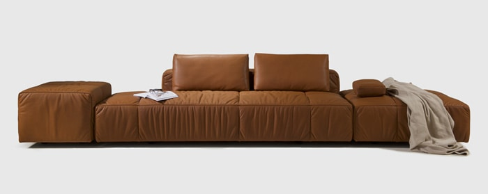 The Hug Modern Sofa Brings To Mind Memories Of Pillow Forts And Cuddling Up In A Warm Fleece Blanket Large