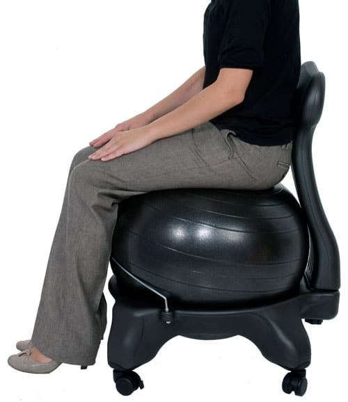 Wonderful Exercise Ball Ergonomic Chair For Design Decorating