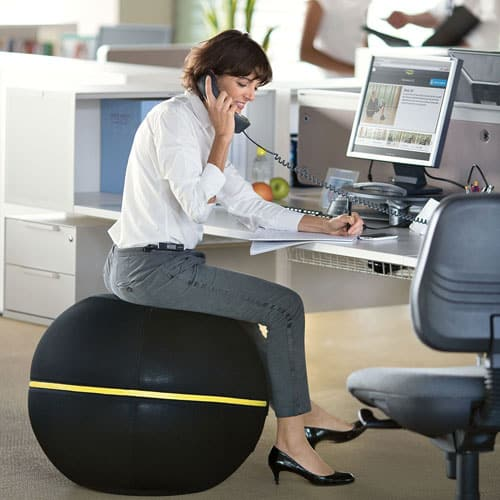 There S Something Diffe About The Technogym Wellness Ball Just Like Other Active Sitting Chairs It Offers A Day Long Low Energy Workout That Ens