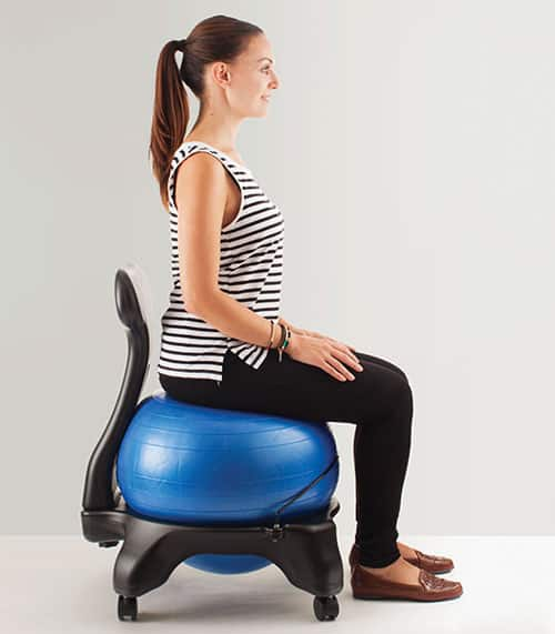 Best Balance Ball Chairs For Sitting Behind A Desk  Vurni - Ball chairs for office