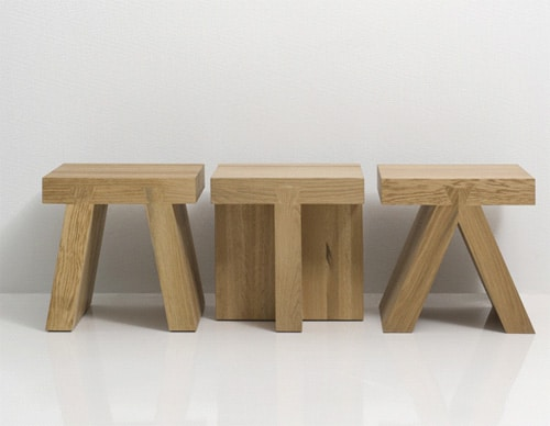 Small Square Tables 6 Models