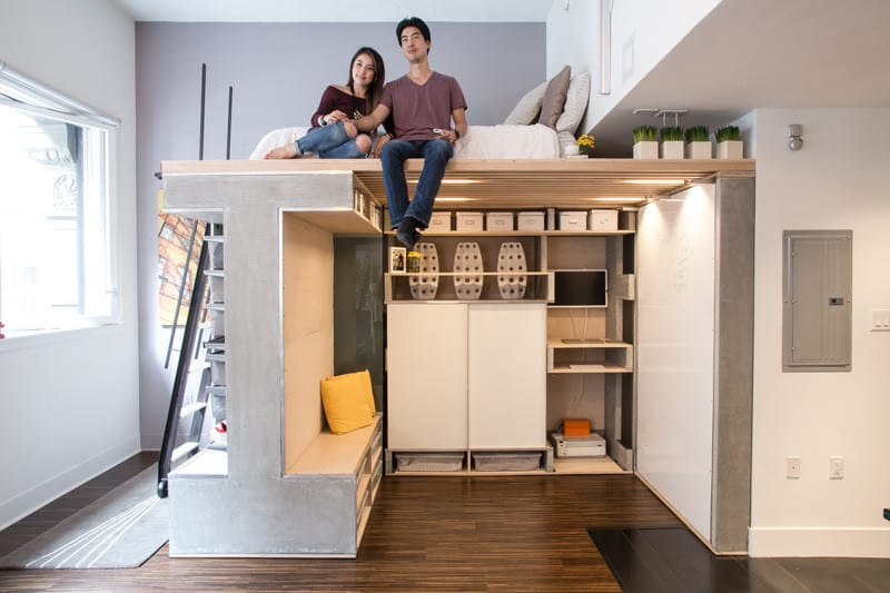 Space-saving Loft