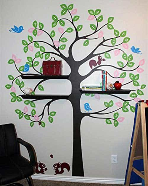 Kids Bedroom Tree vinyl tree wall decals for kids bedroom – vurni
