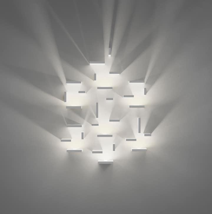 Wall lighting effects Glass Setmodularlight Vurni Set Wall Lights Create Luminary Effects Vurni