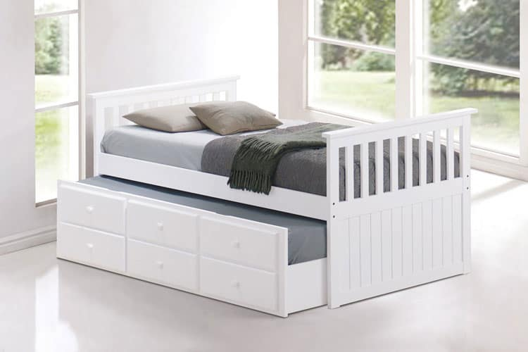 trundle-bed-white