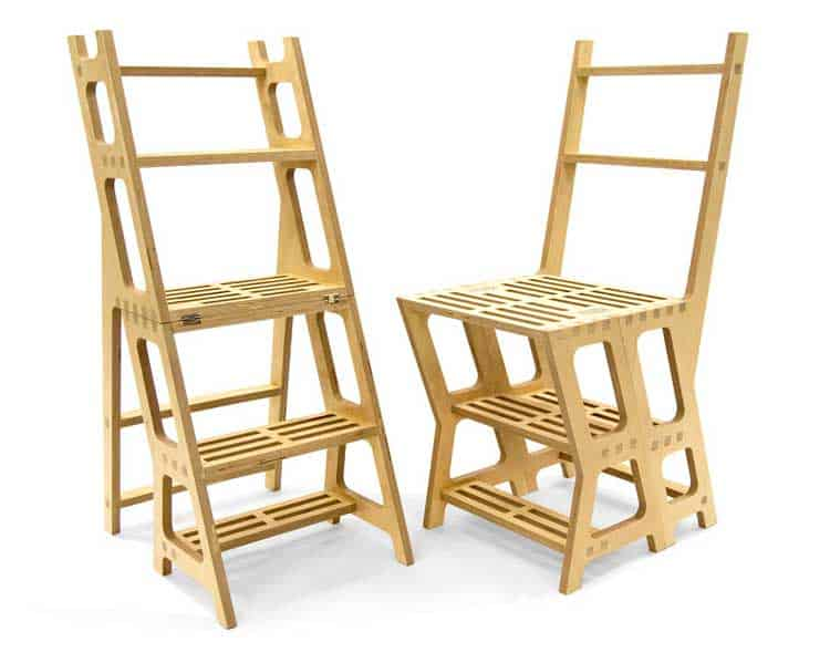library-chair-and-stepladder