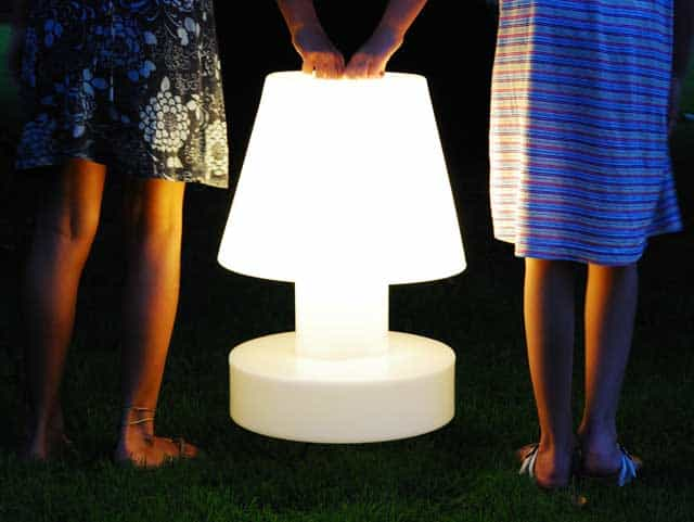 Bloomu0027s Outdoor Portable Lamps Are Styled After Traditional Table Lamps,  But With No Cable To Tie Them To One Place. They Are Available In A Variety  Of ...