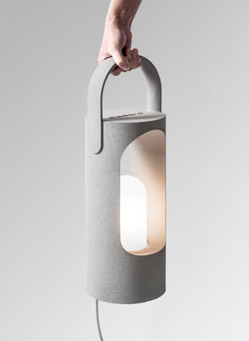 Rolling Portable Lamp