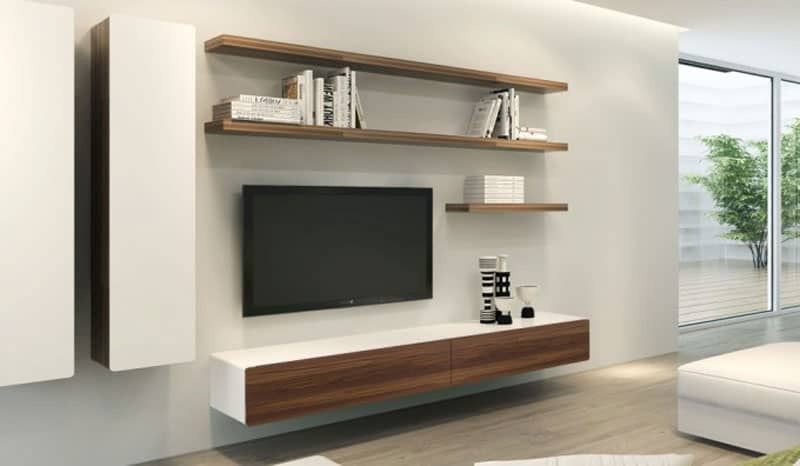 Attrayant ... Floating Wall Shelves And More, But Have You Ever Seen A Floating TV  Console? The Ikon Floating TV Unit Is An Amazing Piece Of Living Room  Furniture ...