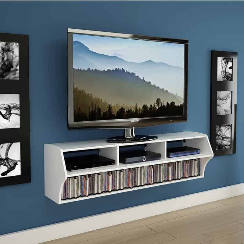 The Prepac Altus Plus Floating Tv Stand Will Look Familiar To Those Who Have Read Our Post On Wall Mounted Desks That S Because They Re Both From Same