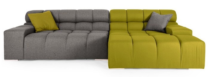 The Kardial Cubix Sectional Sofa Is One Part Playful Design With Another  Part Functionality. Youu0027ll Adore The Foam Cushions With Reinforced Bottoms  That ...