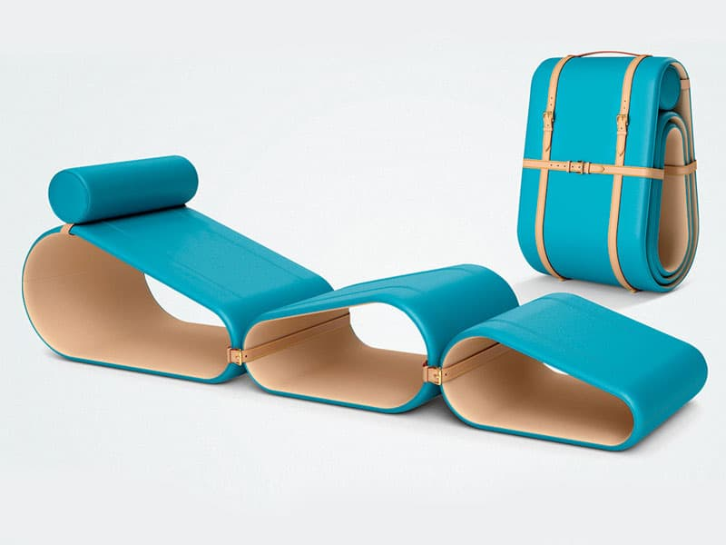 The Chaise Longue From Marcel Wanders Is Epitomy Of A Luxury Hiking Experience