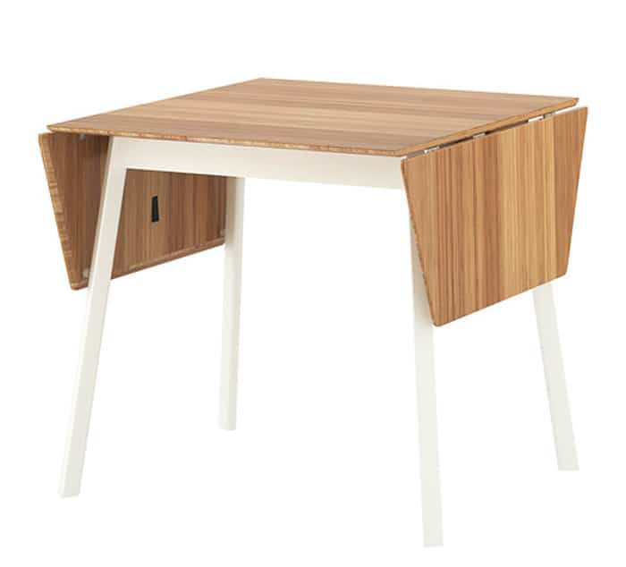 Bamboo Drop Leaf Table