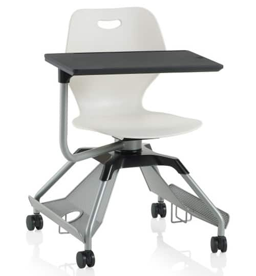 6 Mobile Tablet Chairs Vurni