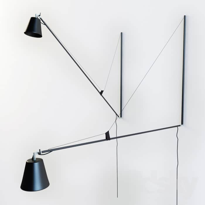 The Hallo Light Takes Its Inspiration From A Similar Design By Jean Prouvé But It Has Some New And Improved Features Not Only Does Swing Side To