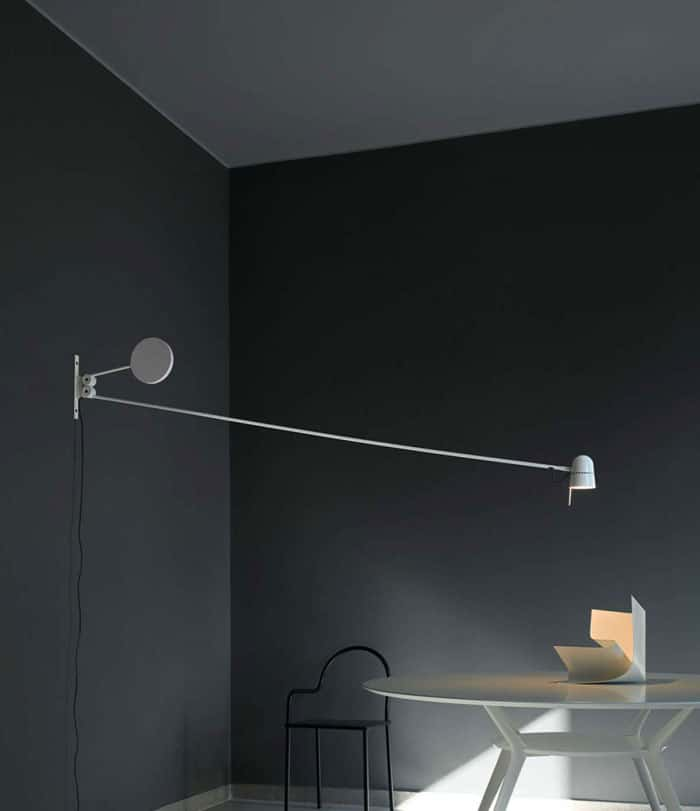 If Youu0027re Looking For The Longest Swing Arm Wall Lamp Available, You Need  The Counterbalance Light From Designer Daniel Rybakken. It Uses A (you  Guessed It) ...
