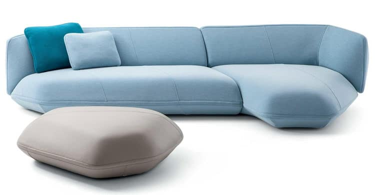 Its Cushions Are So Plump And Comfortable That The Sofa Needs No Legs Or Risers