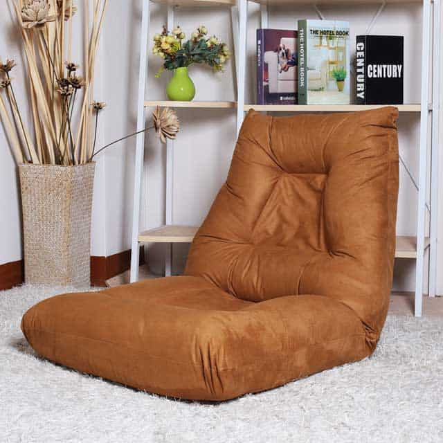 Merax Floor Chair. It's movie night, and all of your friends are coming  over to watch Netflix for a few hours. You need comfortable seating, but a  couch can ...