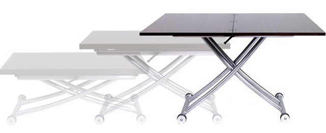 The Transforming X Table Is Height Adjustable, Making It Ideal For  Apartment Dwellers Who Like To Entertain But Donu0027t Have Much Space.