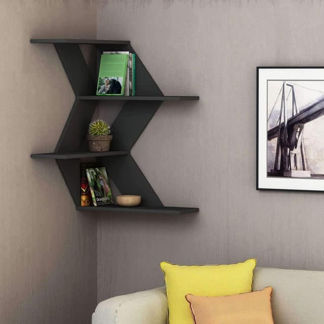9 Floating Corner Mount Shelves Vurni