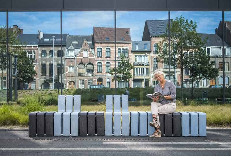 eco friendly multifunction seating. Unique Seating This Ecofriendly Modular Seating System Is The Next Big Thing In Public  Seating For Eco Friendly Multifunction Seating