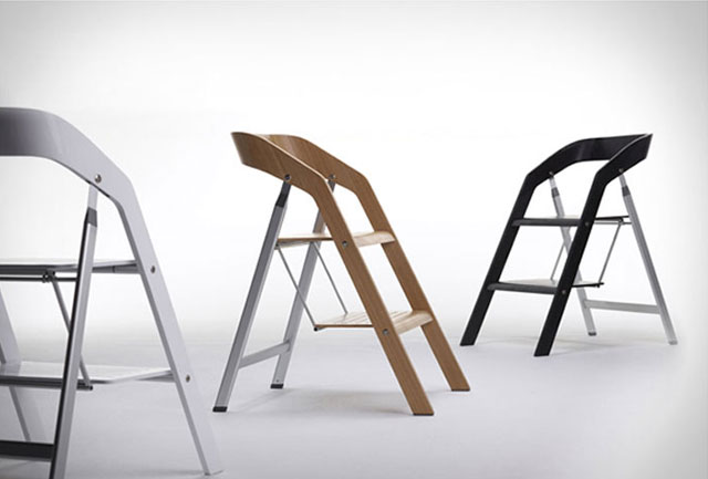 9 Folding Stepladder Chairs Vurni