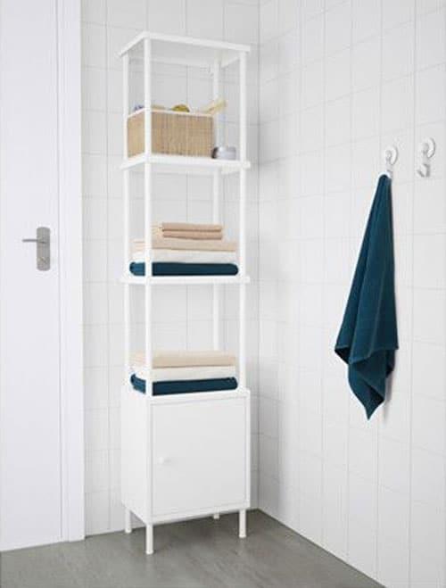 9 Tall Space Saving Bathroom Cabinets, Tall Bathroom Shelving Units