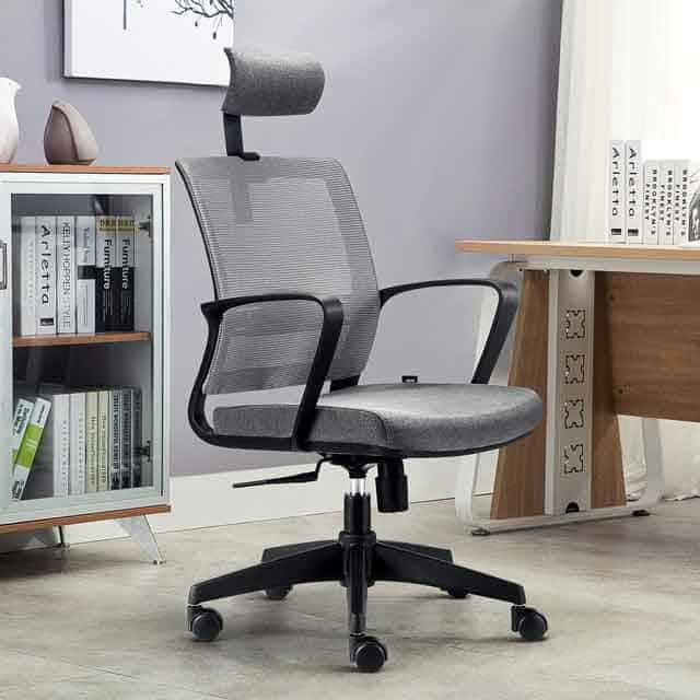 This Could Arguably Be The Best Budget Office Chair Of Bunch Intey S Angled Backrest Supports Natural Curve Your Spine While Providing Support