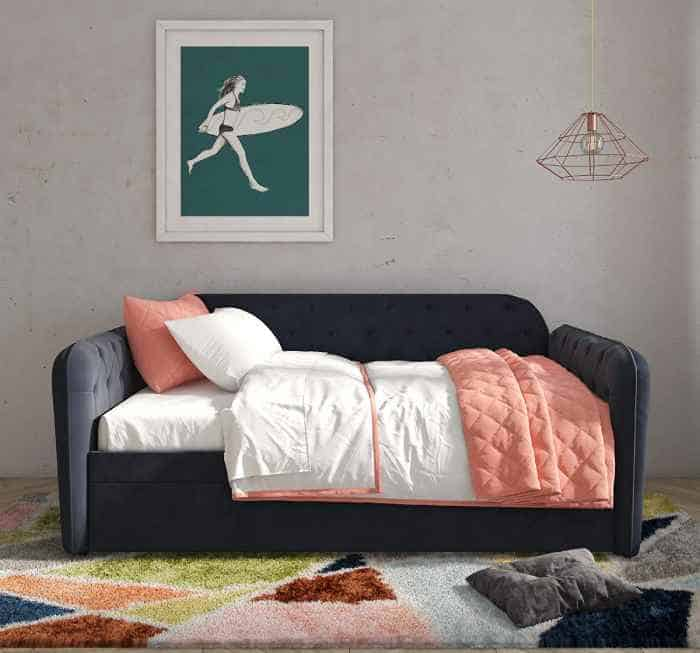 Prime 9 Modern Sofa Style Daybeds With Trundle Bed Vurni Short Links Chair Design For Home Short Linksinfo