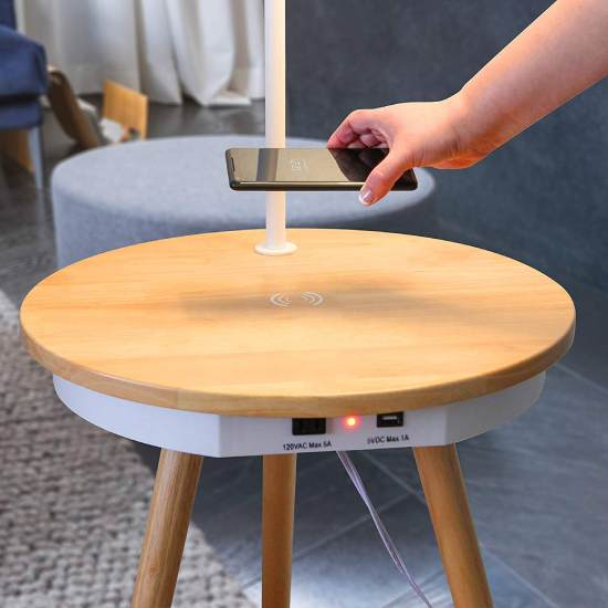 4 Best Wireless Charging Side Tables Vurni