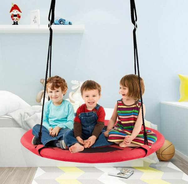 2-in-1 hanging chair